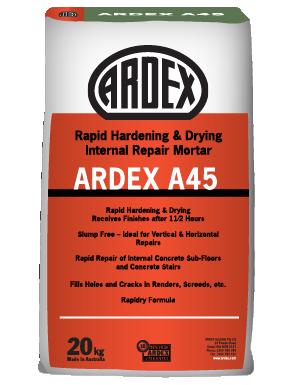 ARDEX A 45 Repair mortar