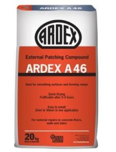 ARDEX A 46 mortar