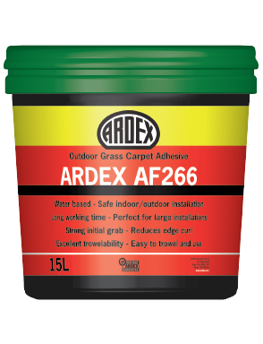 ARDEX AF 266 Outdoor Grass Carpet Adhesive