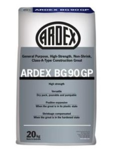 ARDEX BG 90 GP construction grout