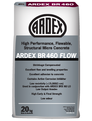 ARDEX BR 460 Flow flowable repair mortar