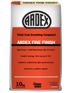 ARDEX Fine Finish cement based smoothing