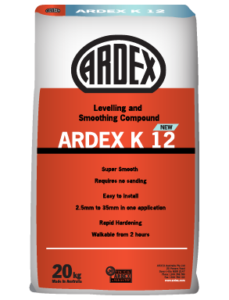 ARDEX K 12 New levelling and smoothing compound