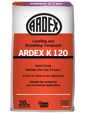 ARDEX K 120 levelling and smoothing compound