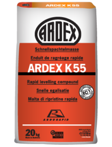 ARDEX K 55 Fast drying self levelling and smoothing compound