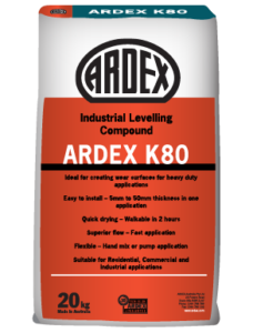 ARDEX K 80 Industrial Levelling Compound