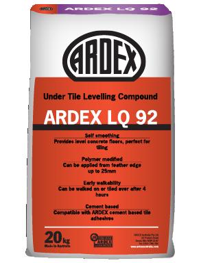 ARDEX LQ 92 Levelling Compound