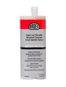 ARDEX RA 142 Crack Injection Epoxy