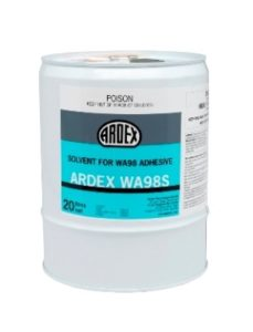 ARDEX WA 98 S Solvent for Butynol Adhesive