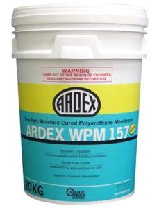 ARDEX WPM 157 moisture cured polyurethane system