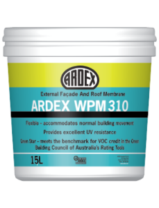 ARDEX WPM 310 liquid applied waterproofing membrane