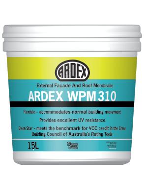 ARDEX WPM 310 liquid applied waterproofing membrane