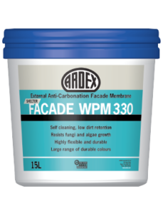 ARDEX WPM 330 weather resistant water based acrylic waterproofing membrane