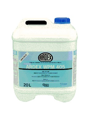 ARDEX WPM 405 liquid polymer additive
