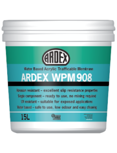 ARDEX WPM 908 trafficable membrane