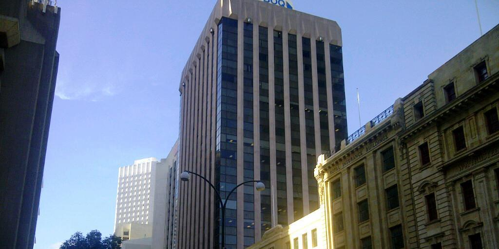 Residential and office building projects category for 111 st georges terrace perth