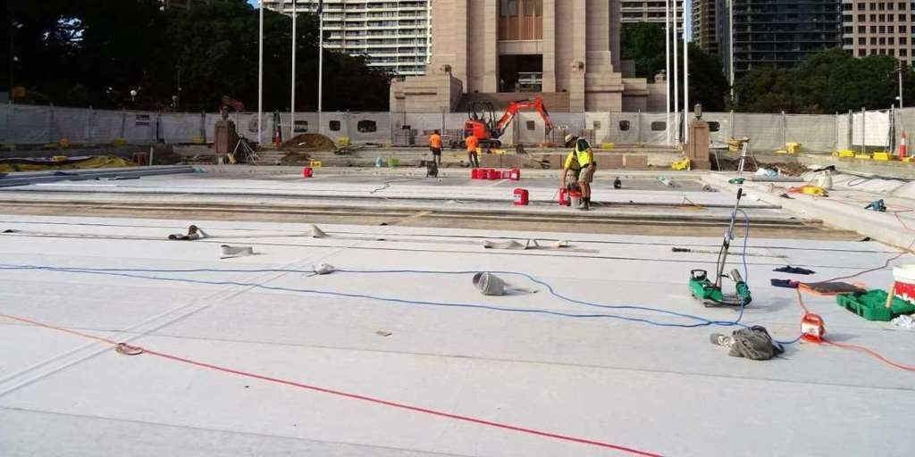 Reflecting Pool Waterproofing : The pool of reflection sydney complete ardex system