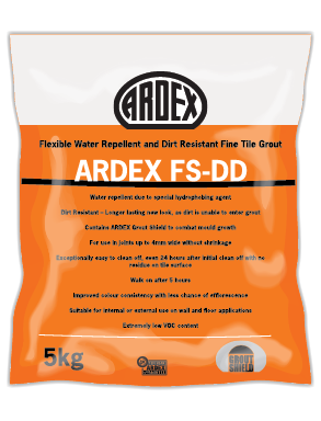 ARDEX FS-DD Non-sanded cement-based, wall and floor grout