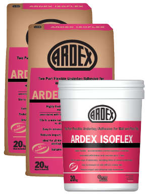 ARDEX Isoflex Rubber based wall and floor tile adhesive