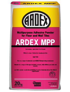 ARDEX MPP Wall and floor tile adhesive for internal applications