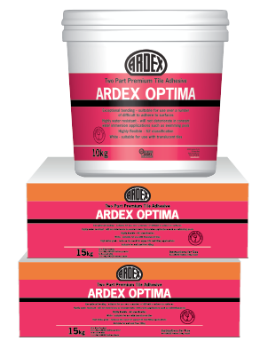 ARDEX Optima Two-part adhesive with exceptional bond
