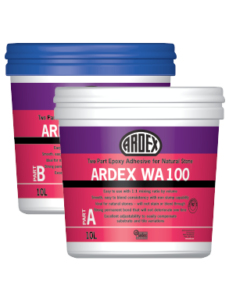 ARDEX WA 100 Two-part epoxy stone adhesive