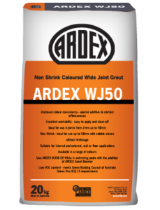 ARDEX WJ 50 Sanded, cement-based tile grout