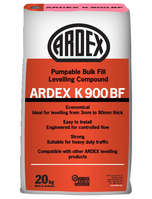 ARDEX K 900 BF Pumpable Bulk Fill Levelling Compound